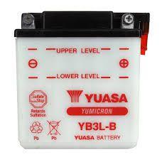 Bateria Yuasa YB3L-B |12V - 3Ah| Yamaha DT200 XT250 XT350