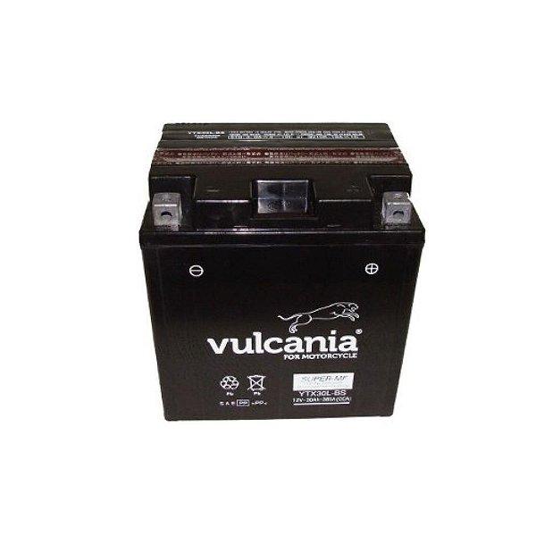 Bateria Vulcania YTX30L-BS, 12V, 30Ah, Harley-Davidson 1340/1450 1584/1690/1803 FL, FLH Series