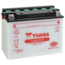 Bateria Yuasa Y50-N18L-A |12V - 20Ah| GL1100 Gold Wing, GL1200 Gold Wing, XV1000TR, VN1500 Vulcan 88, SE
