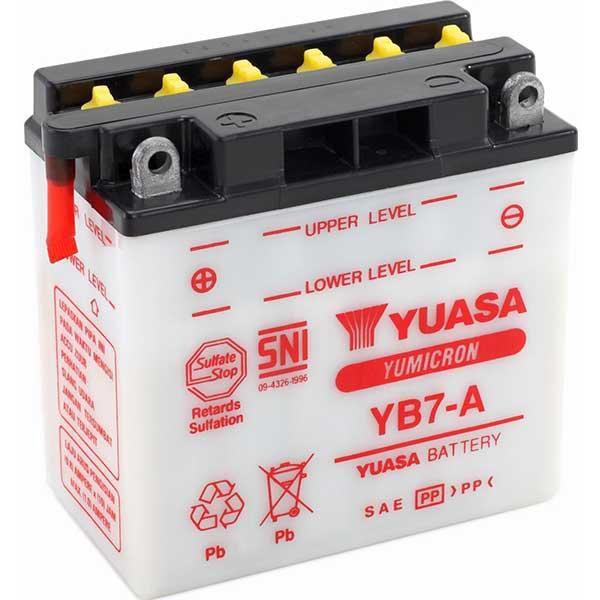 Bateria Yuasa YB7-A Yes 125 Katana Intruder 125 V-Blade 250