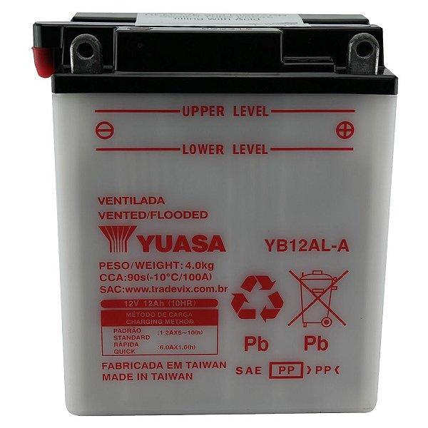 Bateria Yuasa YB12AL-A GS650 F650 Tenere600 Vulcan Virago535