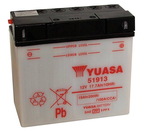 Bateria Yuasa 51913, BMW R850, R1100, R1150, R1200, K1200, K1300, K1600 GT