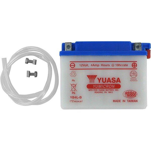 Bateria Yuasa YB4L-B 4Ah C Dream 100 Sundown Scooter WS 50