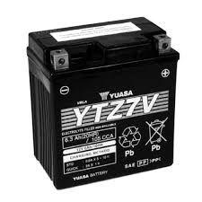 Bateria Yuasa YTZ7V, 12V, 6Ah, Yamaha NMax 160 ABS