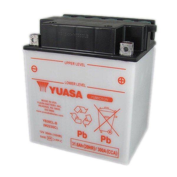 Bateria Yuasa YB30CL-B Jet Ski Sea-Doo GTX4-tec GTI GTR GTX RXP RXT WAKE