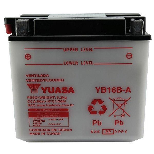 Bateria Yuasa YB16B-A 16Ah VF 1000 R F, VS 600 GLF, VX 800 U