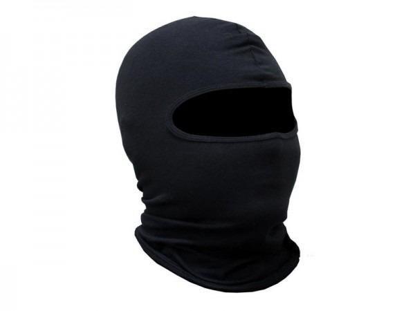 Touca Ninja Balaclava Algodão Preta