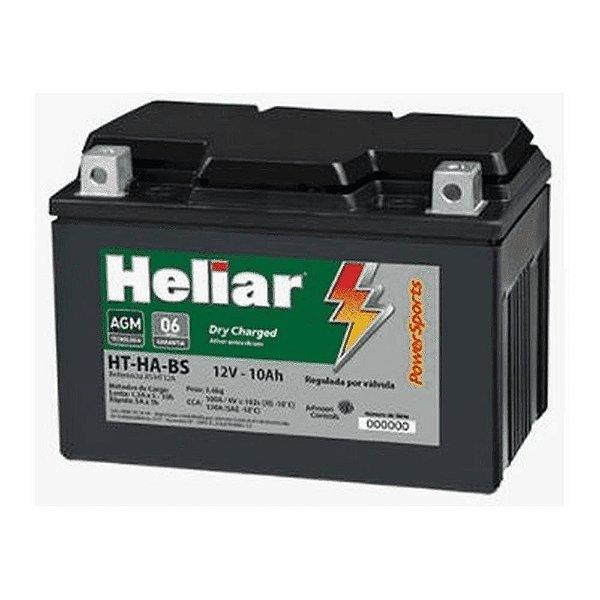 Bateria Heliar HT12A-BS 10Ah Hayabusa Bandit 1250 GSX-R750