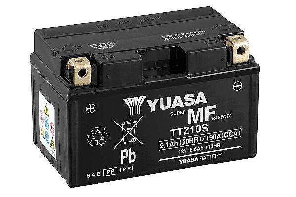 Bateria Yuasa TTZ10S S1000RR CBR600RR CB1000R MT07 YZF-R1 YZF-R6 ZX-10R GSX-R1000 CB500