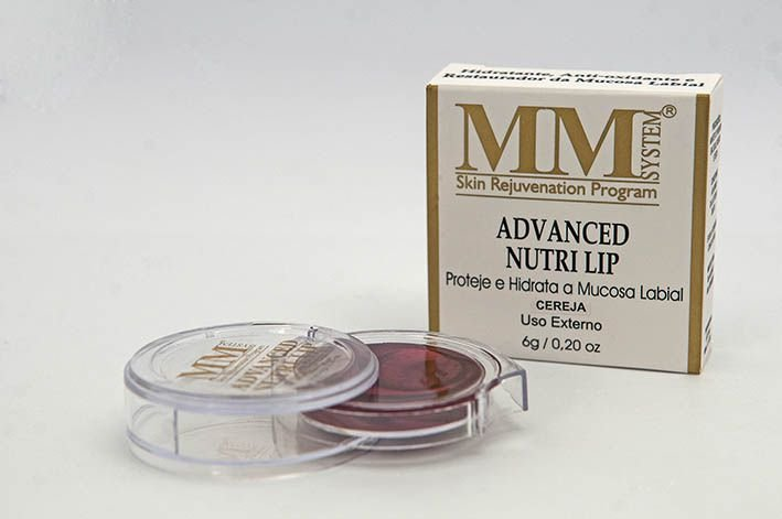 Advanced Nutri Lip [Hidratante Labial] MM System 6g - Cereja (Disco)