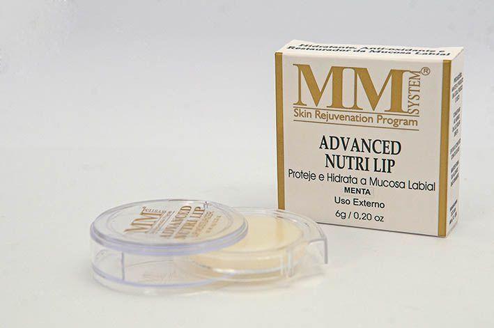 Advanced Nutri Lip [Hidratante Labial] MM System 6g - Menta (Disco)