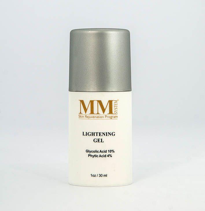 Lightening Gel (Gel Anti-envelhecimento e Clareador para Pele Oleosa) MM System - 30ml