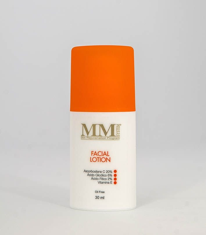 Facial Lotion (Loção Antioxidante, Hidratante e Clareadora) MM System - 30ml