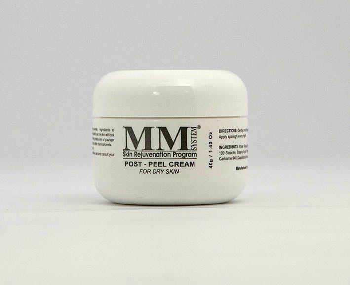 Post Peel Cream – Dry Skin (Creme Facial Hidratante para Peles Secas) MM System - 40g