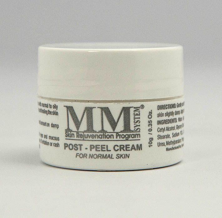 Post Peel Cream – Normal Skin (Creme Facial Hidratante para Peles Normais) MM System - 10g