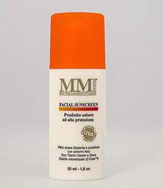 Facial Sunscreen SPF 30 (Protetor Solar Facial Físico) MM System - 50ml
