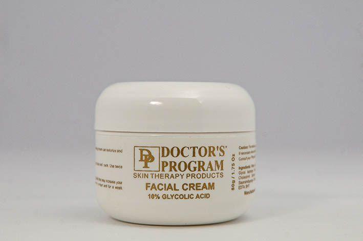 Facial Cream 10% (Creme Antirrugas) Doctor´s Program - 50g