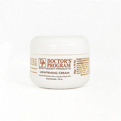 Lightening Cream (Creme Clareador Anti-envelhecimento) Doctor´s Program - 50g