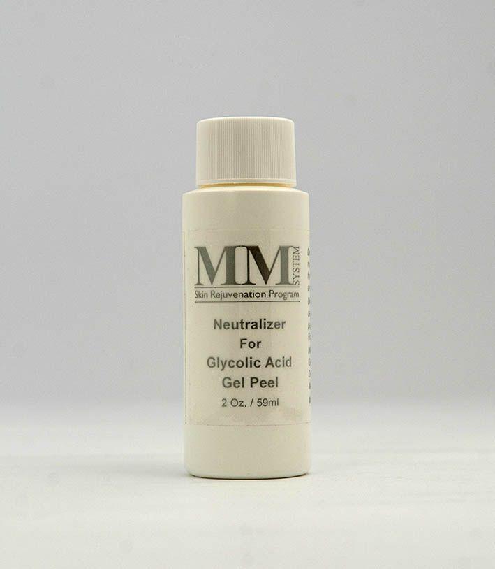 Neutralizer For Glycolic Acid Gel Peel [Loção Facial Neutralizadora da Ação do Ácid. Glicólico]  MM System - 59ml