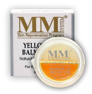 YELLOW PEEL BALM SYSTEM (Aumento Natural dos Lábios) MM System - 6g (Disco)