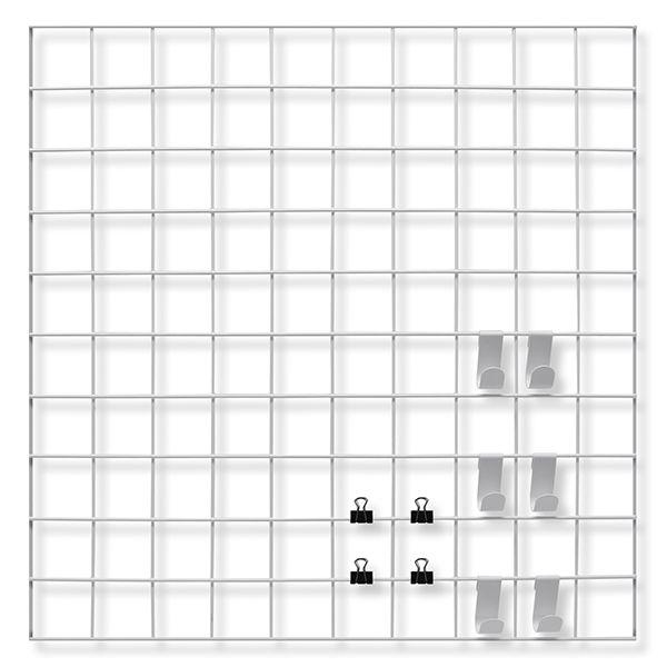 Mural Aramado Branco 54x54
