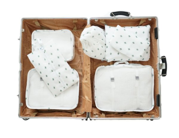 Kit Organizador Para Mala De Viagem 7 Peças
