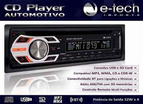 CD-MP3 E-TECH