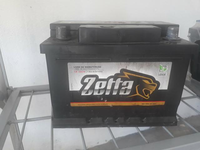 Bateria Zetta 45Ah Citroen: Ax - Fiat: Duna, Elba (94/96), Fiorino (94/), Uno 1.0 (94/) - Ford: Courier, Ecosport 1.0/1.6, Escort Hobby, Fiesta, Ka - GM: Celta 1.0, Prisma 1.0 - Peugeot: 106, 205 - Renault: Kangoo, Twingo - VW: Gol 1.0, Parati 1.0