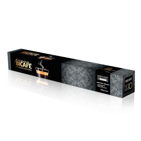Cápsula de café Premium Ristretto para máquinas Nespresso* (Intensidade 10)
