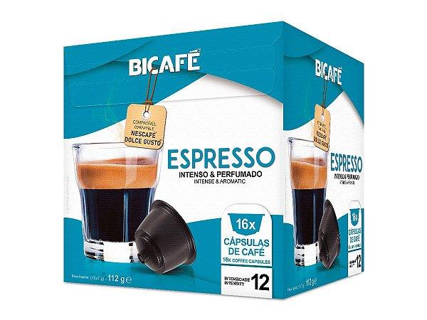 Cápsula de café Espresso para máquinas Dolce Gusto* (Intensidade 12)