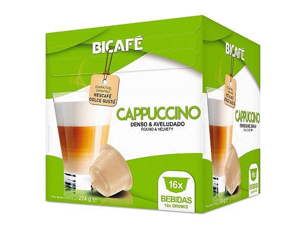 Cápsula de Cappuccino para máquinas Dolce Gusto* (16 Bebidas)