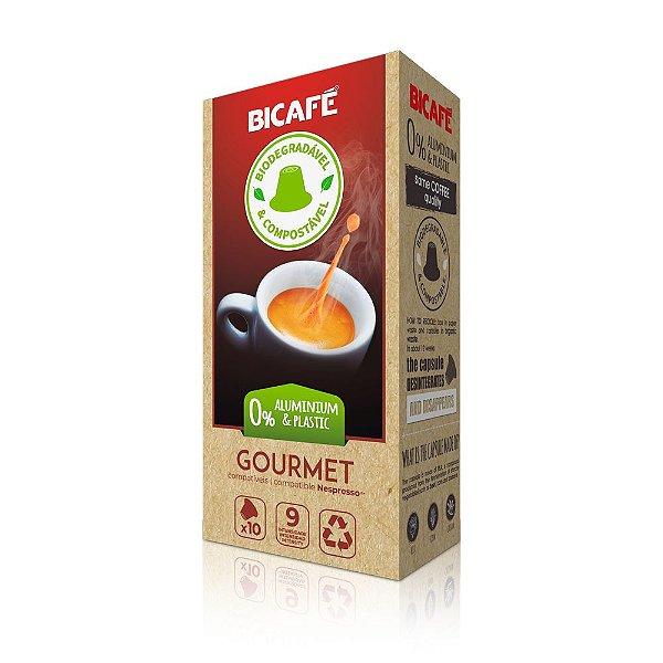 Cápsula de café Gourmet Biodegradável para máquinas Nespresso* (Intensidade 9)