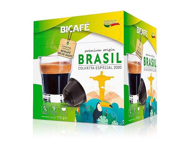 Cápsula de café BRASIL 100% arábica para máquinas Dolce Gusto* (Intensidade 09)