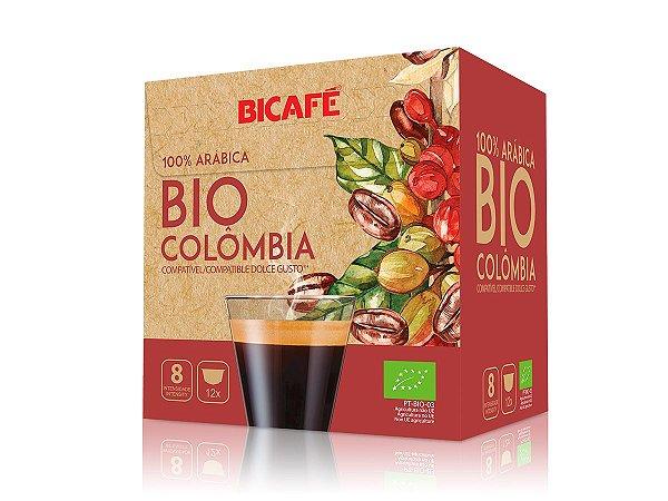 Cápsula de café Bio Colômbia 100% arábica para máquinas Dolce Gusto* (Intensidade 08)