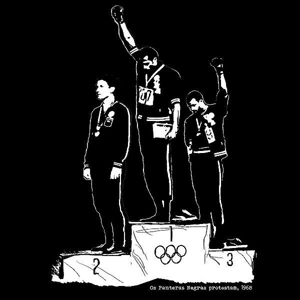 Camiseta Os Panteras Negras Protestam 1968 - Vestindo História