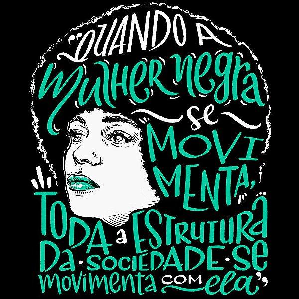 Camiseta Angela Davis, a personificação da luta! - Vestindo História