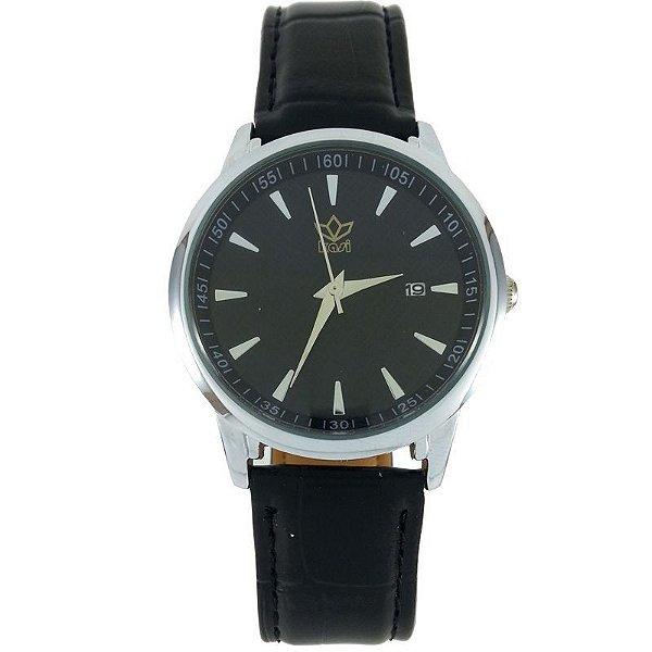 Relógio Analógico Kasi Preto