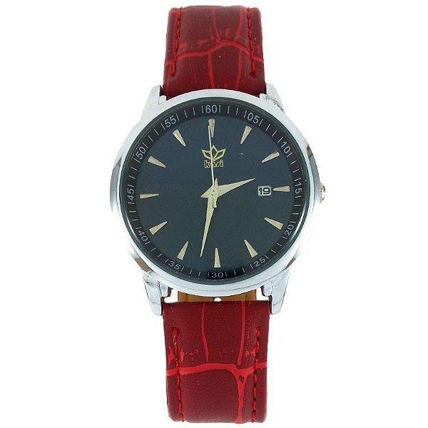 Relógio Analógico Kasi Vermelho