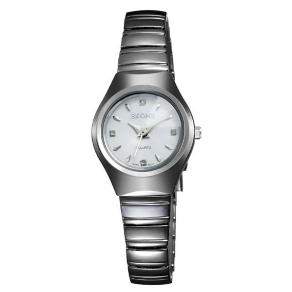 Relógio Feminino Skone Analógico 7101L Branco