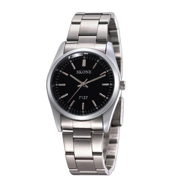 Relógio Feminino Skone Analógico 7127 Preto