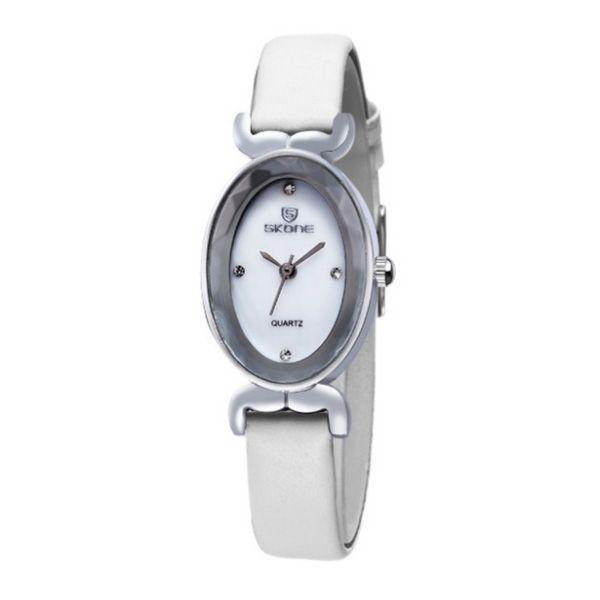 Relógio Feminino Skone Analógico 9276 Branco