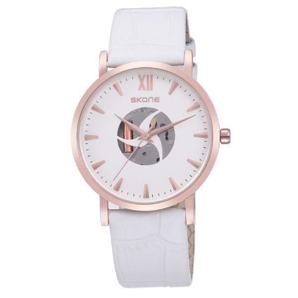 Relógio Feminino Skone Analógico 9311G Branco