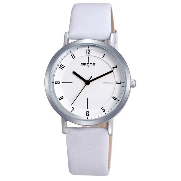 Relógio Feminino Skone Analógico 9340 Branco