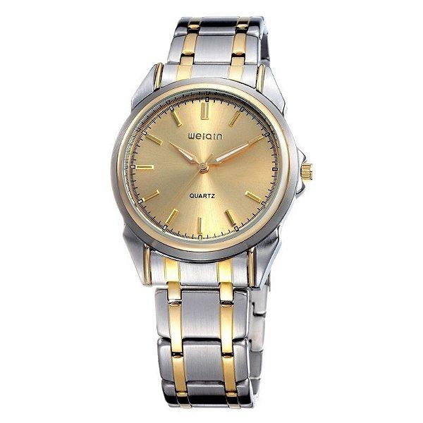 Relógio Feminino Skone Analógico Casual W0031G Dourado