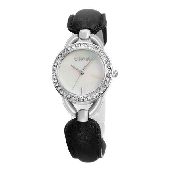 Relógio Feminino Weiqin Analógico W4385 Branco