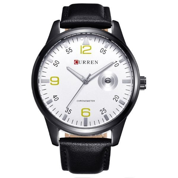 Relógio Masculino Curren Analógico 8116 Prata