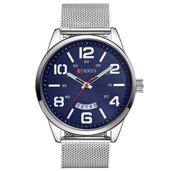 Relógio Masculino Curren Analógico 8236 Azul