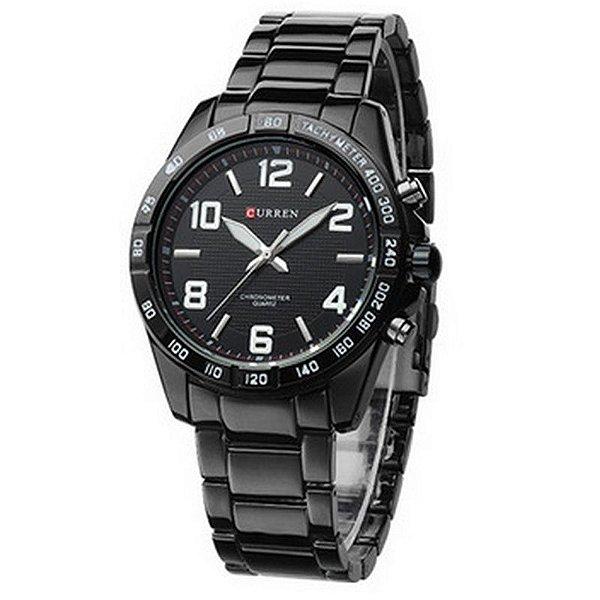 Relógio Masculino Curren Analógico Casual 8107 Branco