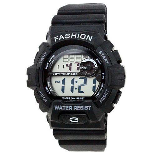 Relógio Masculino Jia Sen AnaDigi Esporte 930D - Preto