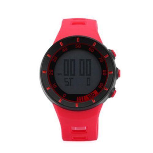 Relógio Masculino Ohsen AnaDigi Esporte 2821 Vermelho